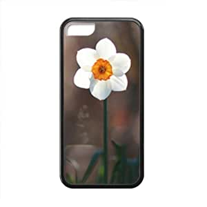 Cute White Flowers personalized creative custom protective phone case for Iphone 6 (4.5)