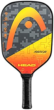 HEAD Graphite Pickleball Paddle - Radical Tour Lightweight Paddle w/Honeycomb Polymer Core & Comfort Grip,