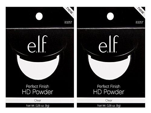 e.l.f. Perfect Finish HD Powder Clear (PACK OF 2) (Elf Pressed Powder)