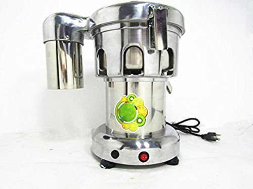370W Professional Stainless Steel Commercial Juice Extractor Vegetable Juicer Electric Juice Making Machine 80-100kg/Hr (220V) Review