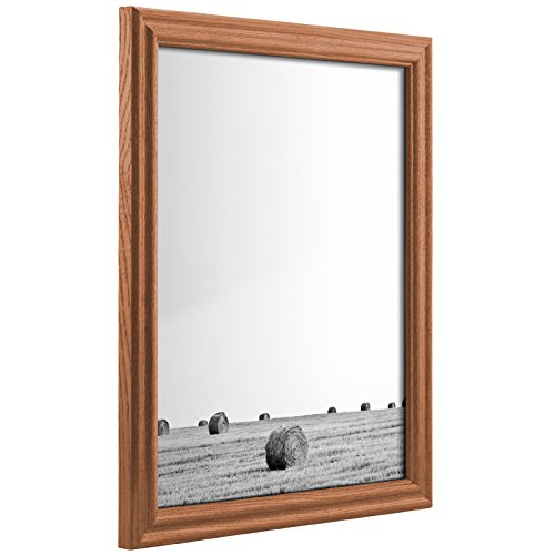 - Craig Frames 200ASH105 24 by 36-Inch Poster Frame, Solid Wood.75-Inch Wide, Natural Brown