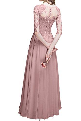 Lang Abendkleider Rot Aermeln Damen Hochwertig Ballkleid Ivydressing Mit Brautmutterkleider Festkleid tqREw