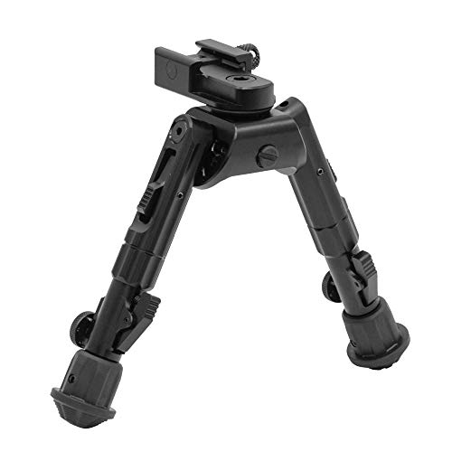 (UTG Heavy Duty Recon 360 Bipod, Cent Ht: 6.69