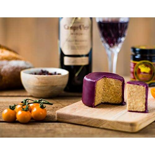 Caramelised Onion & Rioja Cheddar - Waxed Truckle 200g