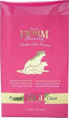 - Fromm Puppy Gold Dry Dog Food, 5-Pound Bag