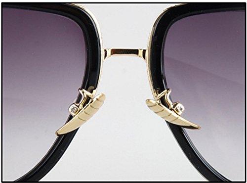 Sol De Metal c19 C10 Grande Caja Gafas Retro Hombres Pareja 1f6nZSxp