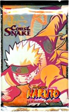 Naruto CCG Coils of the Snake Booster Pack
