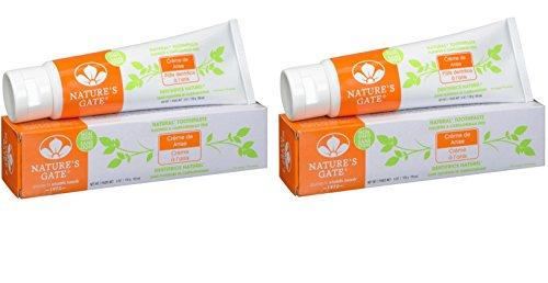 Nature's Gate Fluoride-Free Natural Creme toothpaste, Creme de Anise - 6 oz - 2 pk