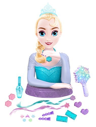 Frozen Deluxe Elsa Styling Head Toy by Disney Frozen (Frozen Elsa Head)