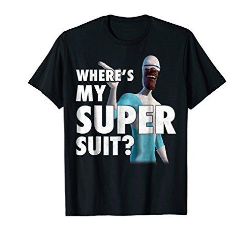 Disney Pixar Incredibles Frozone Super Suit Graphic T-Shirt