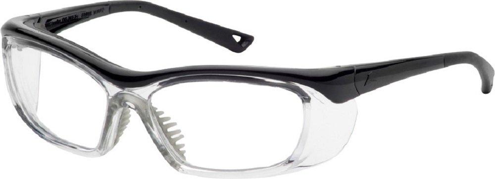OnGuard Safety Eyewear OG 220S Nylon Frames Goggles Black / Clear 58mm-15mm-135mm Large by On Guard Safety Eyewear