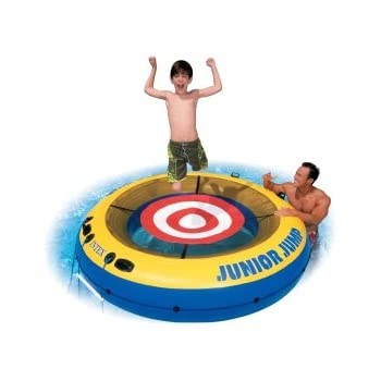 Intex Junior Jumper Inflatable Tube Water Trampoline Toys Games