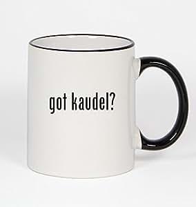 got kaudel? - 11oz Black Handle Coffee Mug