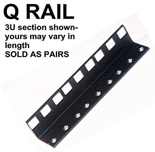 26U steel server rack rail with 3/8