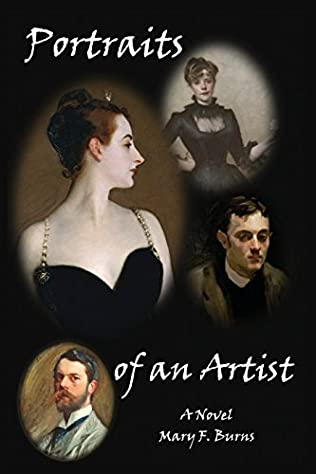 book cover of Portraits of an Artist