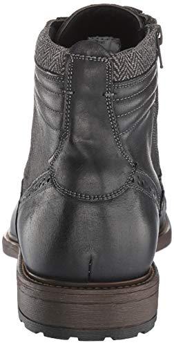 Pictures of Steve Madden Men's Trentin Ankle Boot TREN01M1 Black Leather 8