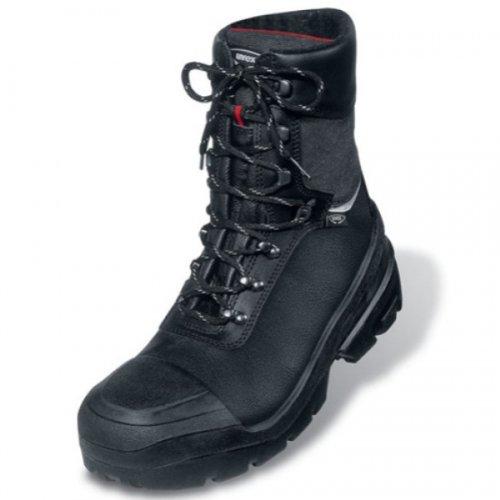 Uvex 8402244Winter Boot, S3, Quattro Pro, Schnürsenkel 44, Schwarz