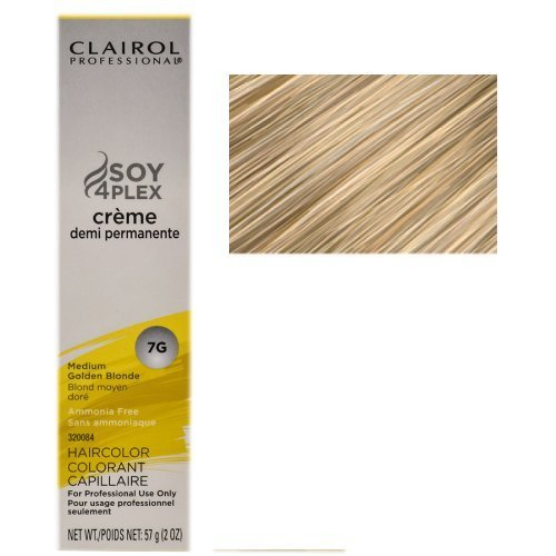 (Clairol Professional Creme Demi Permanente Hair Color 7G-Medium Golden Blonde (PACK OF 1))