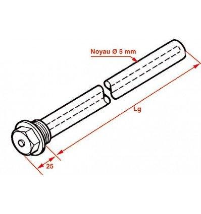 Expert by net - Anodo de magnesio y accesorios - Anode 3/4