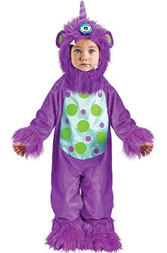 [Fun World Costumes Baby's Li'L Monster Infant Costume, Purple, Large(12-24mo.)] (Purple Monster Costumes)