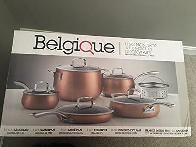 New in box Belgique 11 pc nonstick aluminum cookware set