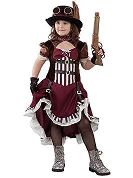 DISBACANAL Disfraz Steampunk para niña - -, 6 años: Amazon.es ...