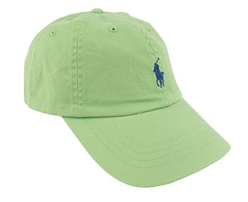 Polo Ralph Lauren Monogram Adjustable Ball Cap Green O/S