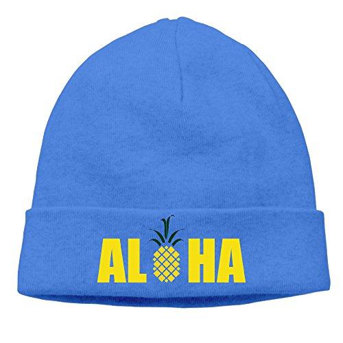 DETO Men's&Women's Pineapple Patch Beanie JoggingRoyalBlue Caps Hats ()