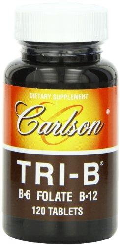 Carlson Tri B Folate B 12 Tablets