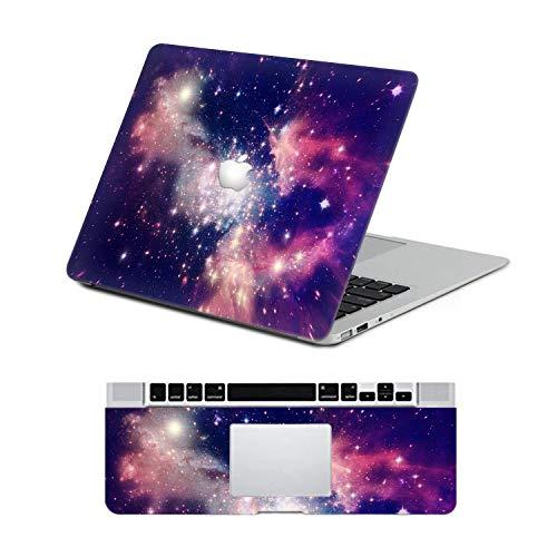 DQQH MacBook Pro 15 inch Retina 2012-2015A1398 Sticker Full-Cover Protect Sticker Skin - Purple Nebula
