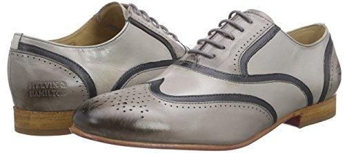 Melvin Zapatos De Oxford amp;hamilton Cordones Claro Sally 38 Mujer Gris txwrIqw
