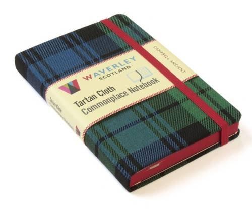Campbell Ancient (Waverley Genuine Scottish Tartan Notebook)