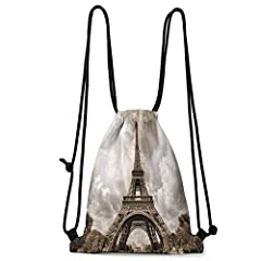 """""""All Over Printed PolyesterThe Size of the Bundle Pocket: The drawstring bag is about 36 cm / 14.1 inches wide and about 43cm / 16.9 inches long . It is suitable for most adults and children, and can also carry a lot of items.Lightweight and ..."""