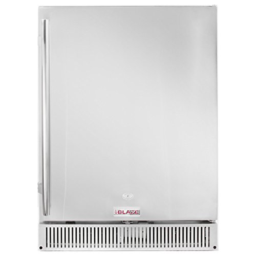 Blaze BLZ-SSRF-50DH Outdoor Rated Stainless Steel Refrigerator, 5.2 Cu Ft., 24-inches by Blaze Outdoor Products