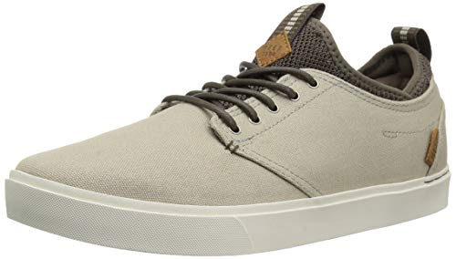 Reef Men's Discovery Skate Shoe, Sand/Natural, 10 M US