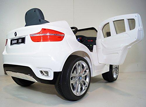 12v ride on car bmw x6 series licensed