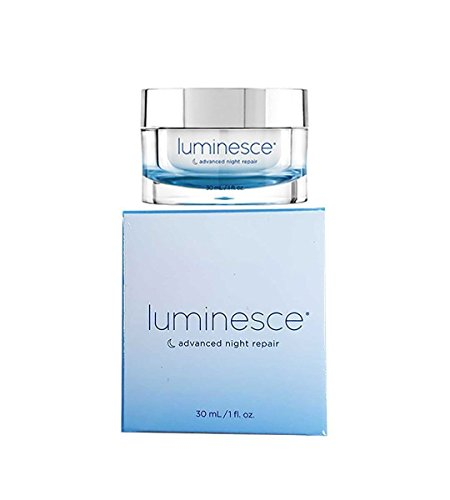Jeunesse Luminesce Advanced Night Repair Facial Anti-aging Skin Care Cream 1oz - 30ml. This Night Cream Helps with Natural Hydration, Self-repair and the Reduction of Wrinkles and Signs of Aging By Restoring Moisture.