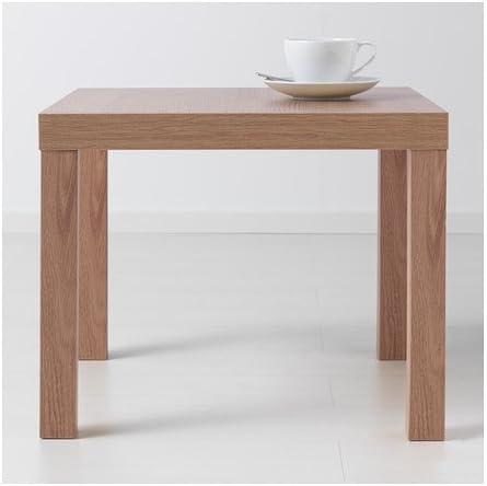 legno tavolino basso da salotto colore: nero 55X55X45 Lack Nero Ikea