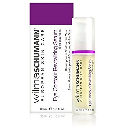 WILMA SCHUMANN Eye Contour Revitalizing Serum - A Natural and Anti-Aging Treatment designed to Moisturize & Reduce the Appearance of Wrinkles, Fine Lines and Swollen and Tired-Looking Eyes (1oz/30ml)