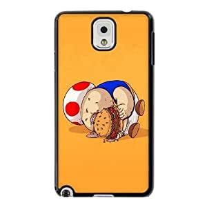 The best gift for Halloween and Christmas Samsung Galaxy Note 3 Cell Phone Case Black Fat Mario Mushrooms RPR1717692