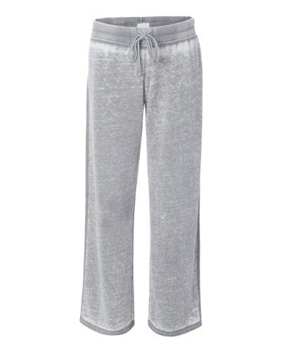 J. America - Ladies' Zen Fleece Sweatpant - 8914 - 2XL - Cement