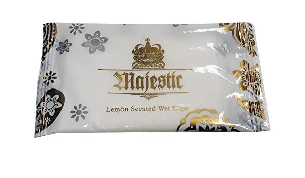 Thali Outlet® - 100 x limón Fresh grande toallitas húmedas caliente fría individualmente envuelto para microondas: Amazon.es: Hogar