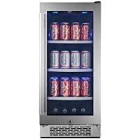 Avallon ABR151SGLH 86 Can 15 Built-In Beverage Cooler - Left Hinge