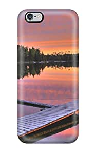 For Iphone 6 Plus Protector Case Sunset On The Lake Earth Nature Sunset Phone Cover