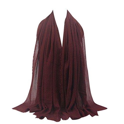 Women Muslim Thick Chiffon Long Dress - 7