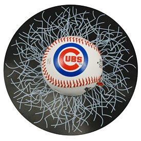 Chicago Cubs Shatter Ball Window - Shatter Decal