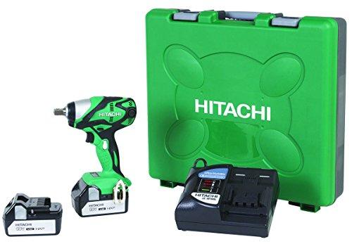 Hitachi WR18DSDL 18-Volt Cordless Lithium-Ion Impact Wrench (Includes Two 3.0 Ah Batteries)