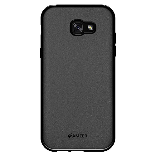 Slim Shockproof Case for Samsung Galaxy A7 (Black) - 3