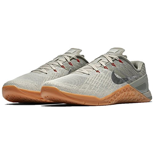Nike Metcon 3 Dark Stucco/Metallic Silver/Pale Grey Mens Cross Training Shoes