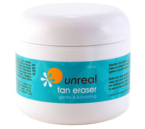 Unreal Tan Eraser Gel Self Tanner Remover and Corrector for Spray Tan Removal